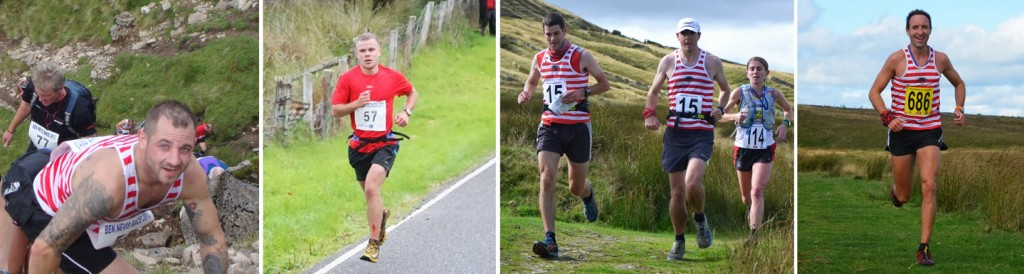 Nicky & Fleeter at the Ben and Kev, Martin and El Capitano in action at Yorkshireman