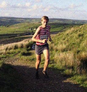 Joe on his way to winning. courtesy of Tod Harriers,
