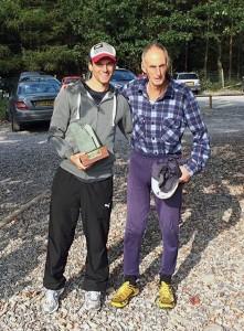 Joe with fell legend Joss Naylor