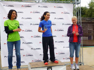 A Happy Podium place for Linda