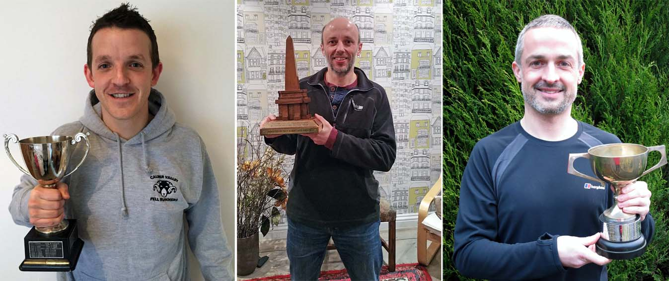 Some of our 2014 champ ions with their well earned trophies