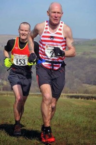 Richard on his way to V50 record. www.woodentops.org.uk