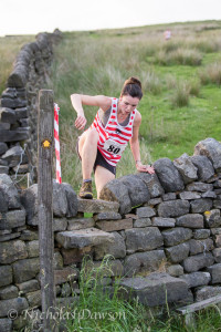 Rachael Crossland at cragg vale (Photo by Nicholas Dawson)