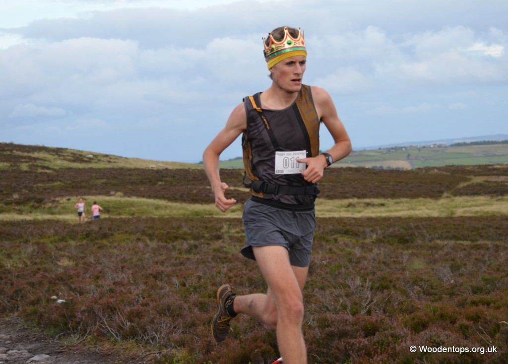 Calder Valley's Joe Crossfield King and 1st at Crow Hill Reverse