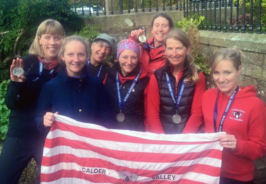 British Fell Relay 2015 Ladies Team