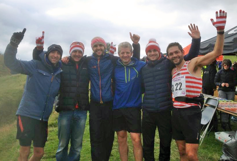 Gold for the CVFR Mens team at the British Fell Relay 2015