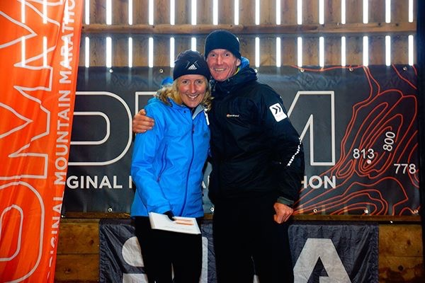 Jackie and Phil Scarf the OMM 2015