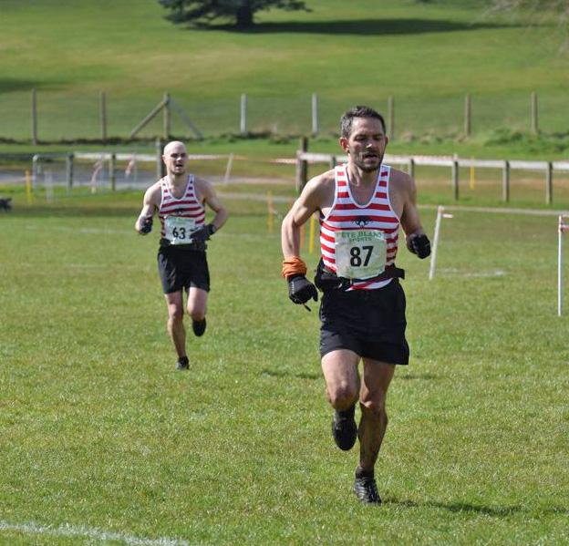 Karl and Tim Sprint Finish at Donard