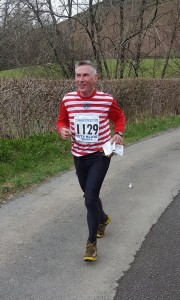 Rod Sutcliffe finishing the Teenager with Altitude
