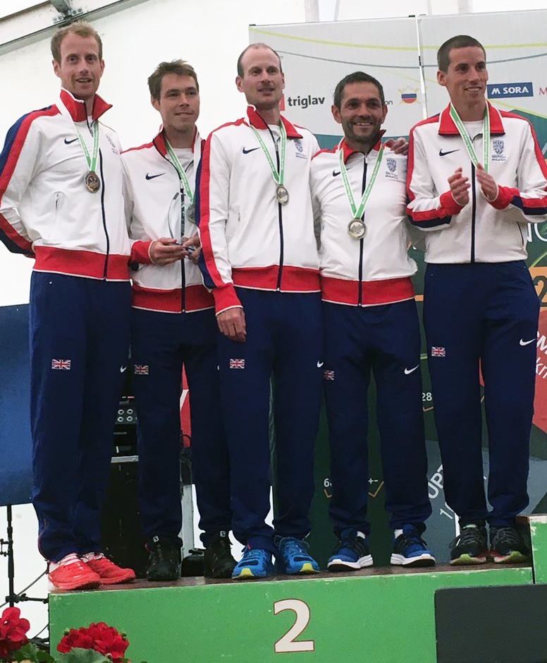 Team GB Silver Medalists