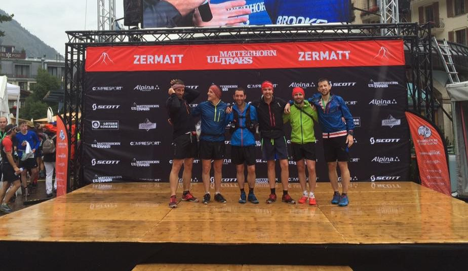 Richard Ingram, Mark O'Connor, Jake Ackroyd, Iain Powell, Ben Frechette & Gavin Roper. Ultrak-Zermatt,