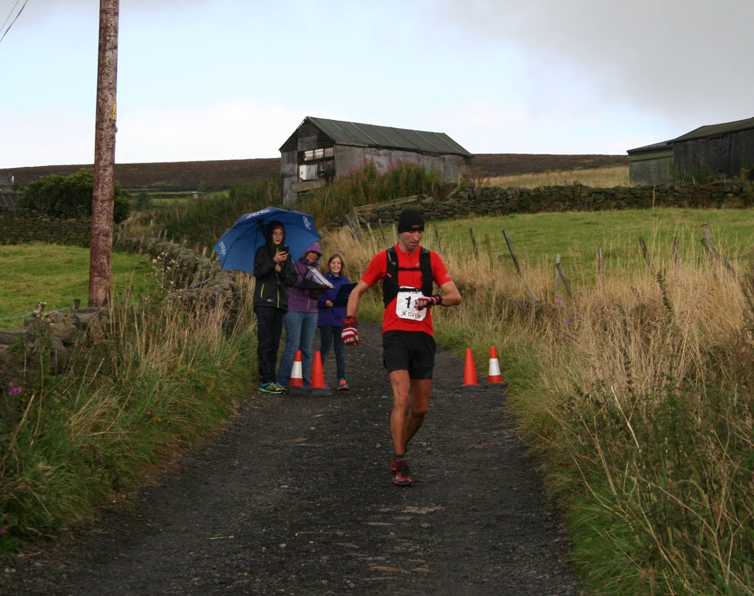 Ben Mounsey Winning the inaugural Castle Carr 2016 #Suunto