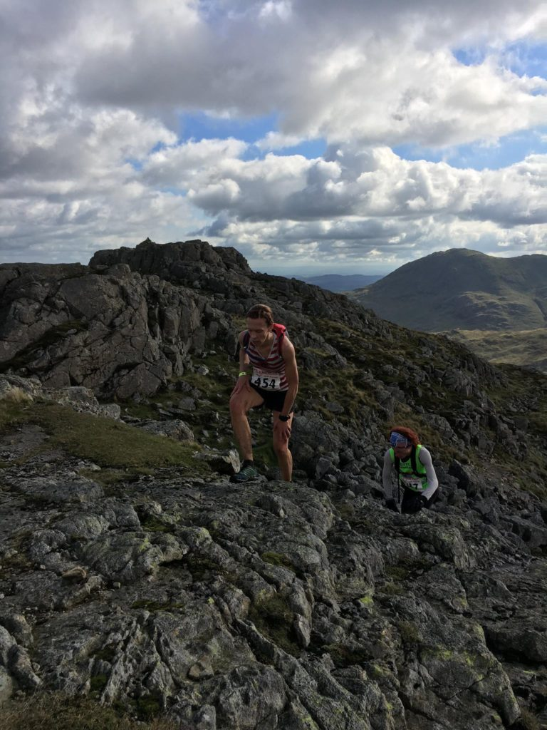 Gayle Sugden earns Bronze at Langdale. Photo By Calvin Ferguson