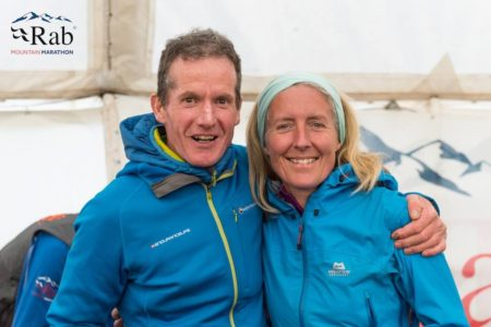 Phil and Jackie Scarf (Photo by Rab Mountain Marathon)