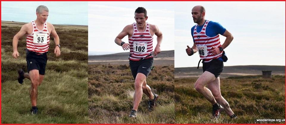 CVFR Mean team prize James Logue, Mark O'Connor & Rob Allen