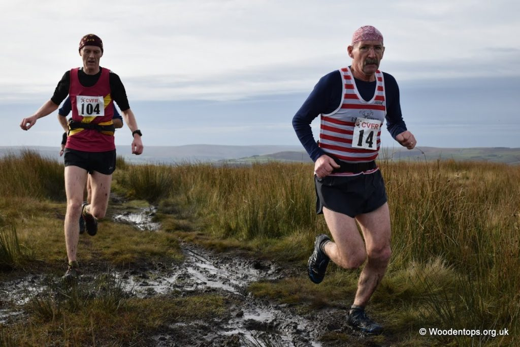 Dave Beel's on his come back race after several months out.
