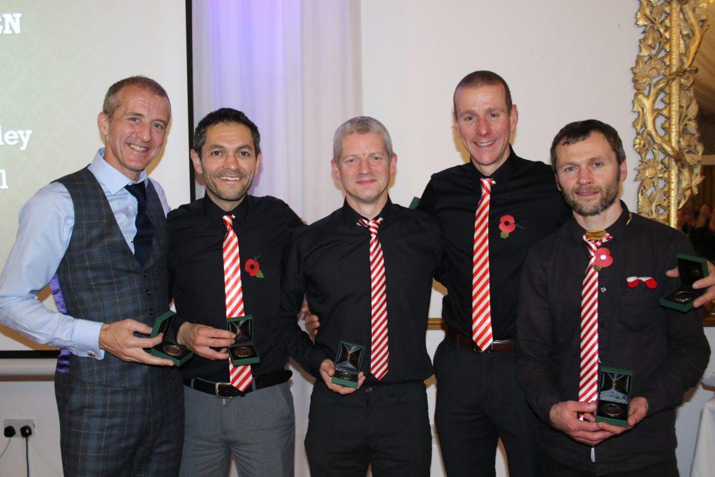 From the Left, Darren Kay, Karl Gray, James Logue, Shaun Godsman & Gavin Mulholland