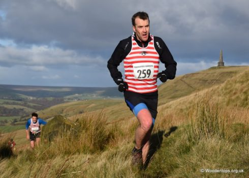 Iain P being Chased by M Wharton